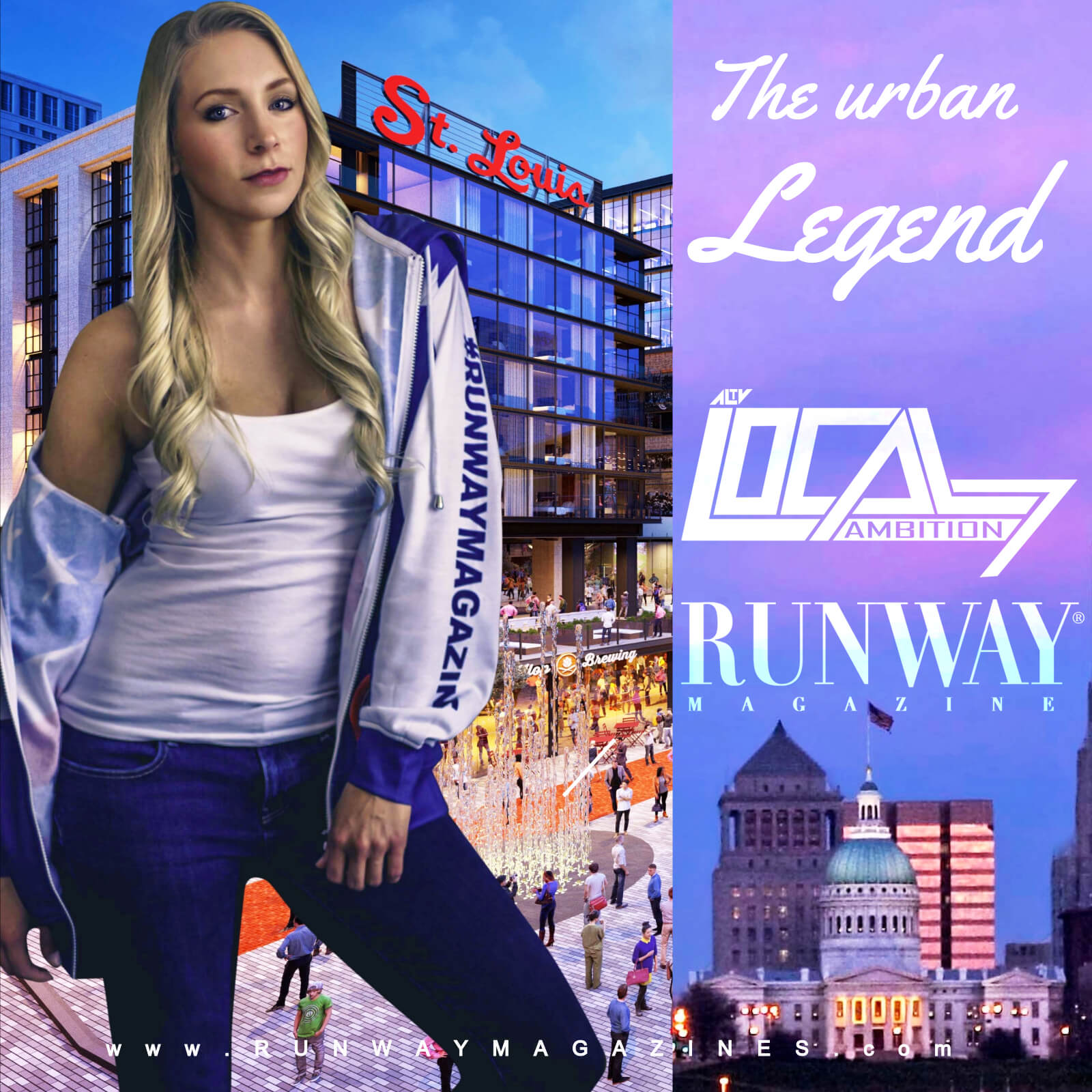 The Urban Legend of St Louis by RUNWAY MAGAZINE