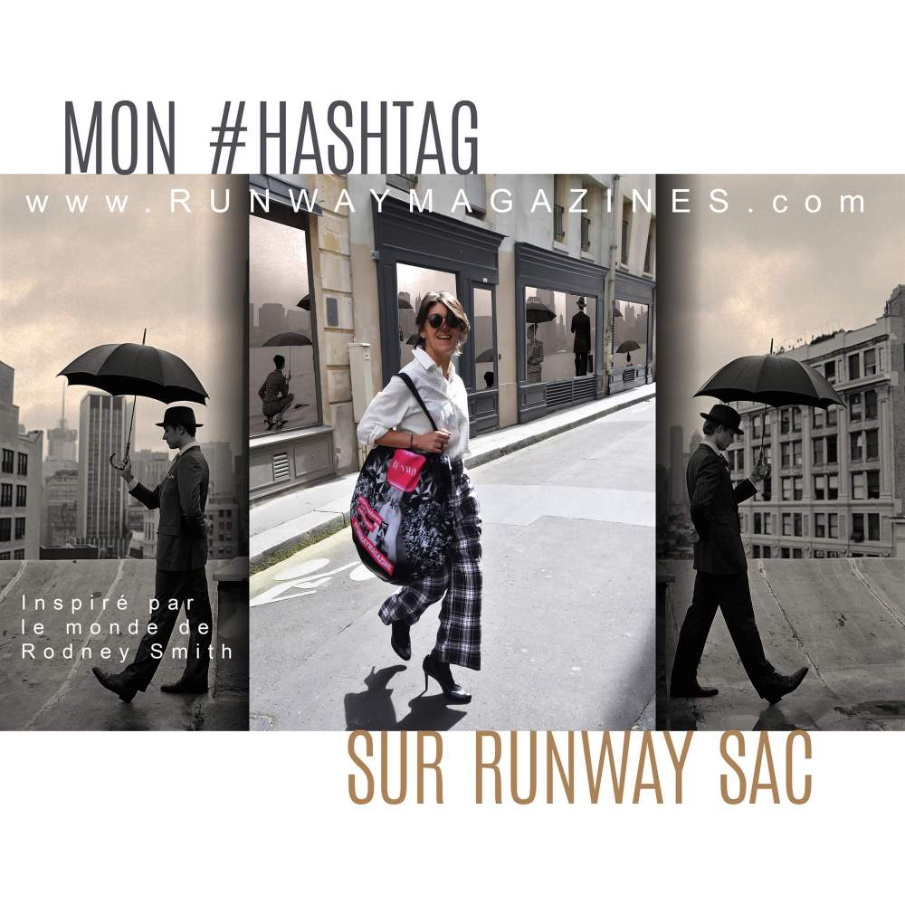 My hashtag on Runway Bag by Fashion Photographer - Rodney Smith