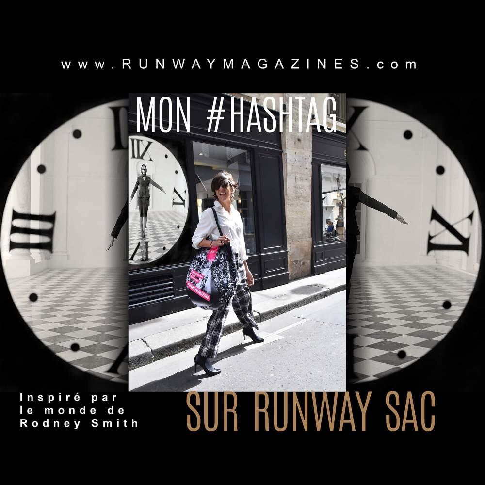 Mon hashtag sur Runway Sac par Photographe de Mode - Rodney Smith
