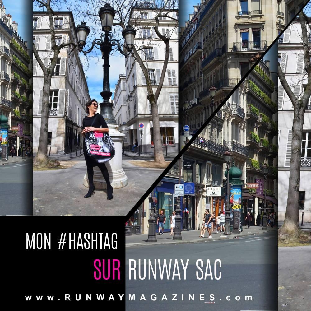 Mon hashtag sur Runway Sac par Photographe de Mode