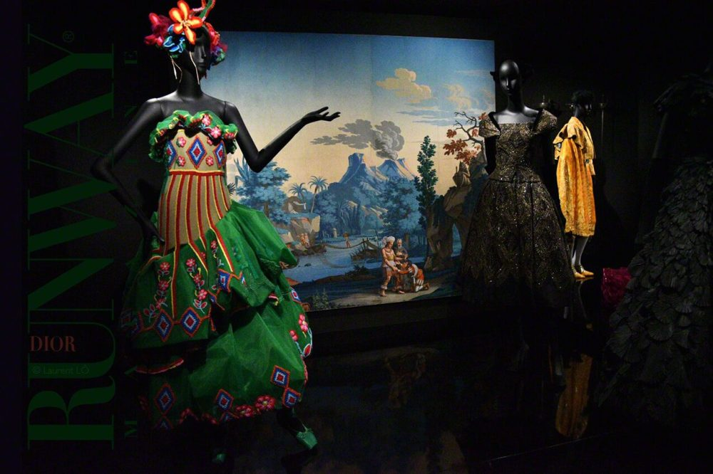 Christian Dior Exhibition by Runway Magazine