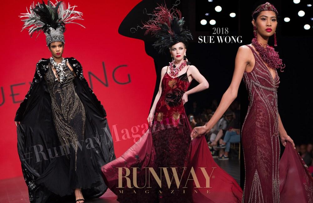 Sue Wong by Runway Magazine Fall Winter 2018