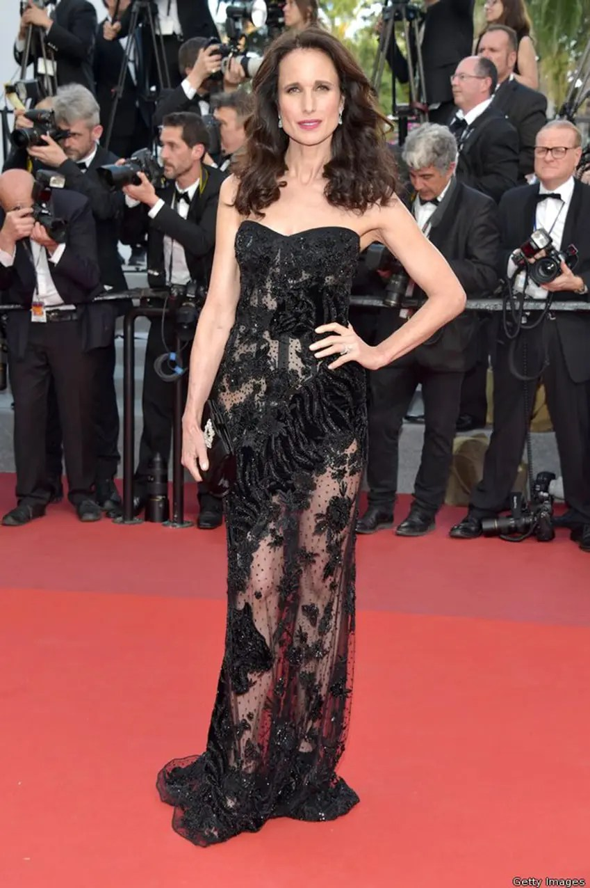 Andie MacDowell by Runway Magazine Cannes Fashion Film Festival 2017