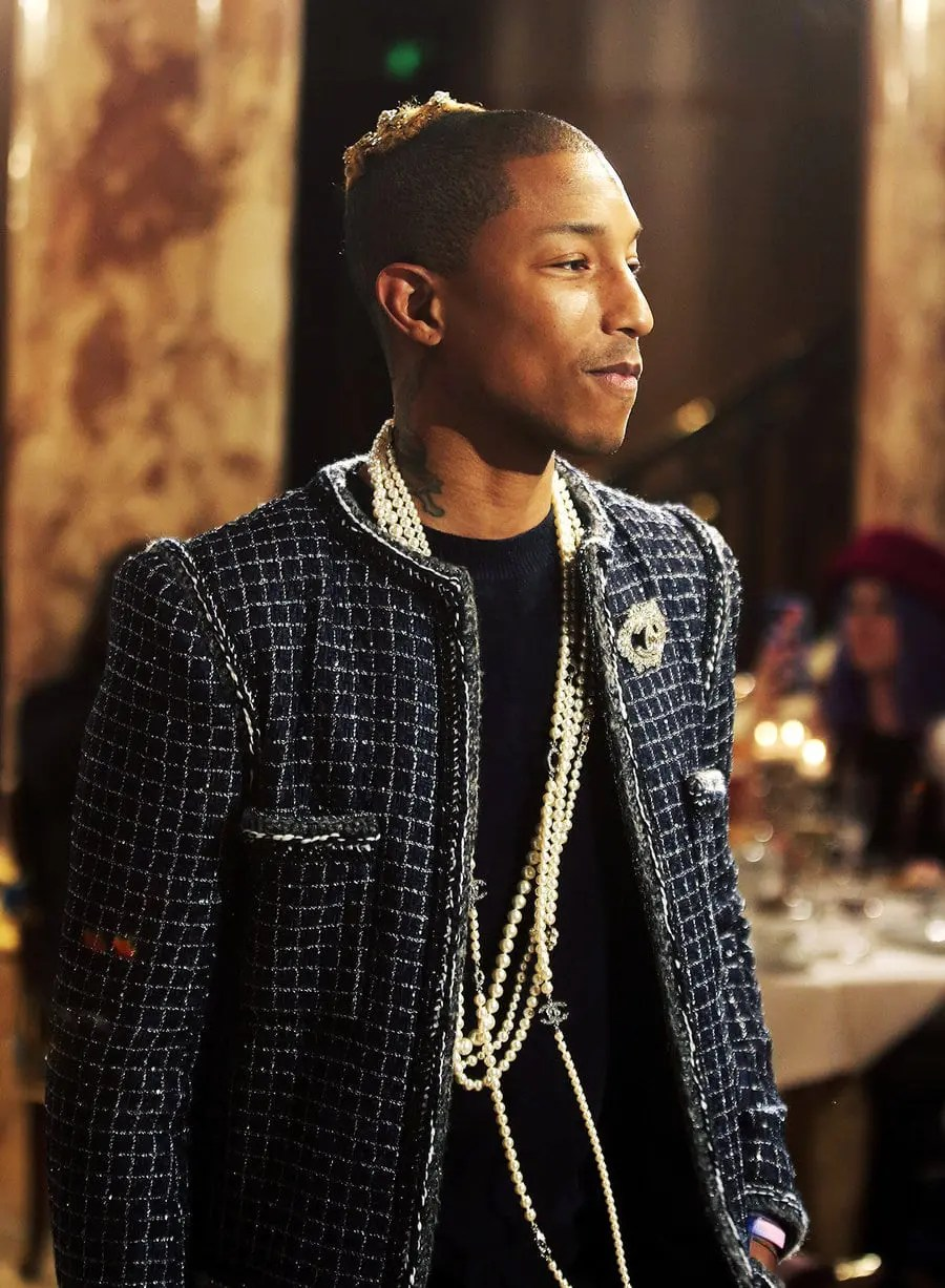 Camus:AP:REX:Shutterstock-pharrel-williams-chanel-metiers-dart-event-dec-6-2016