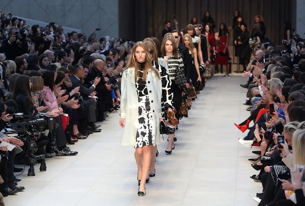 London Fashion Week Burberry Prorsum Show