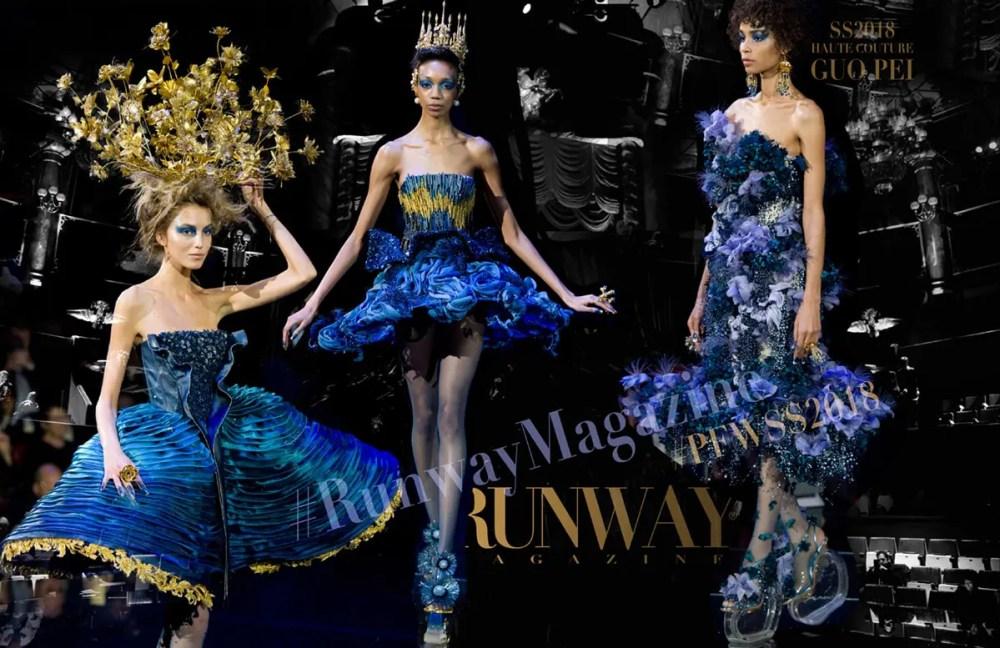 Guo Pei Haute Couture Spring Summer 2018 by Runway Magazine