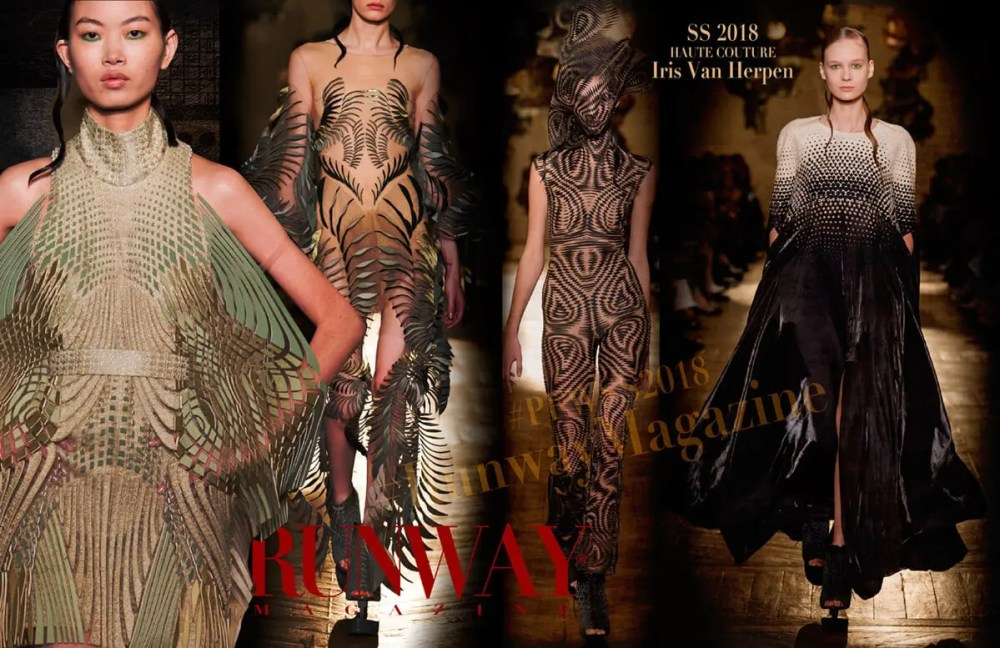 IRIS VAN HERPEN Haute Couture Spring Summer 2018 by Runway Magazine