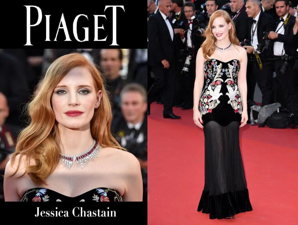 Jessica Chastain Piaget by Runway Magazine