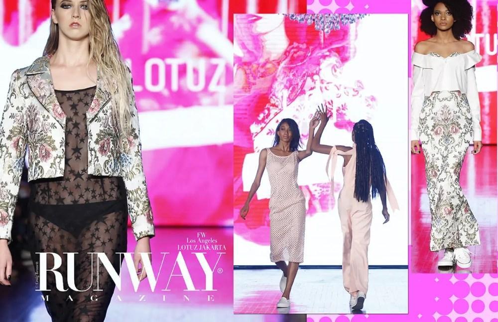 LOTUZ JAKARTA Spring Summer 2018 by Runway Magazine Los Angeles Fashion Week