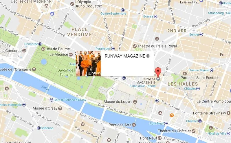 Runway Magazine Official Address HQ Contact