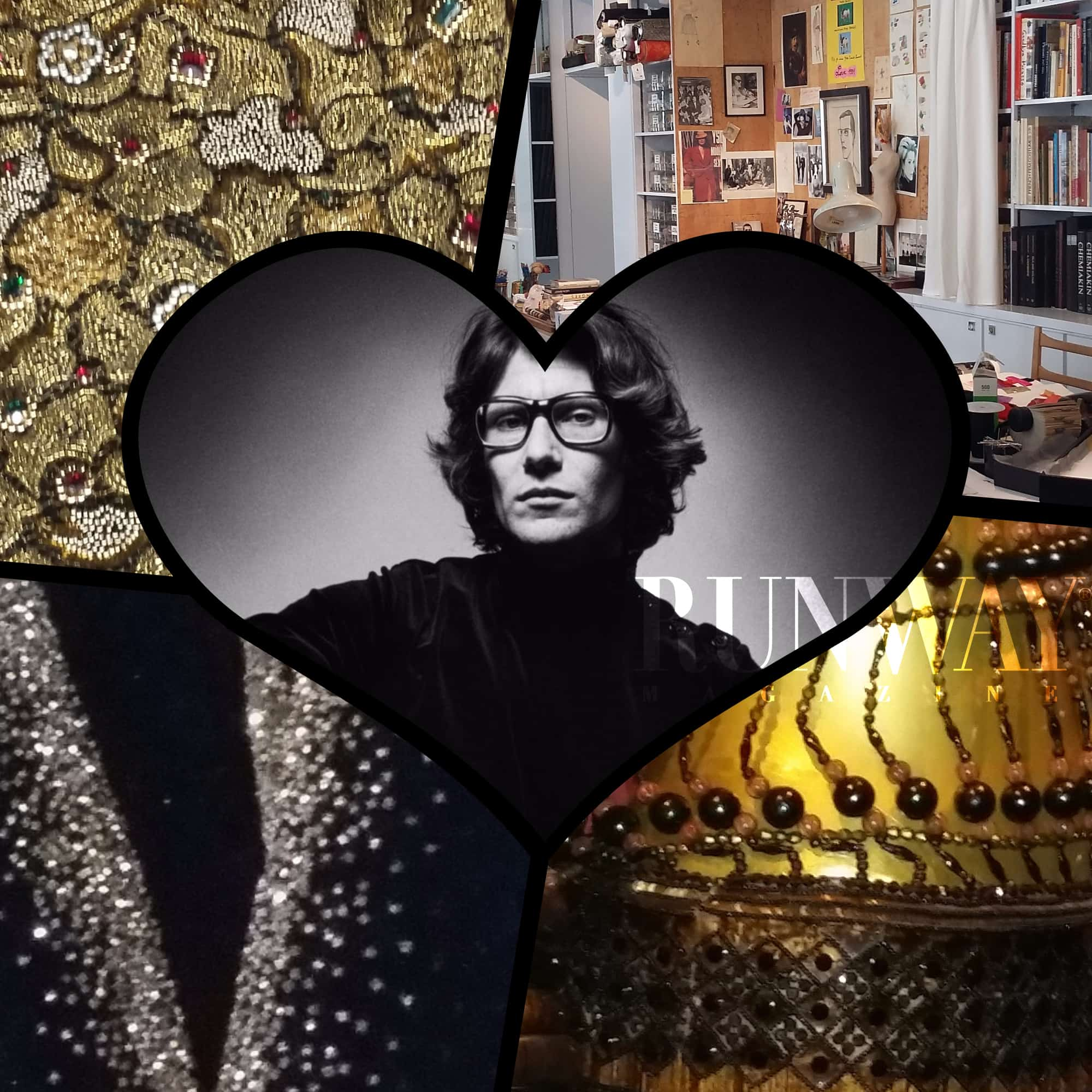 Runway magazine official yves saint laurent museum for Bureau yves saint laurent