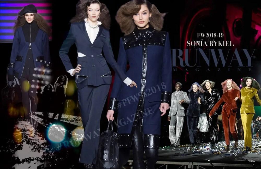 SONIA RYKIEL PFW by Runway Magazine Paris Fall Winter 2018-2019