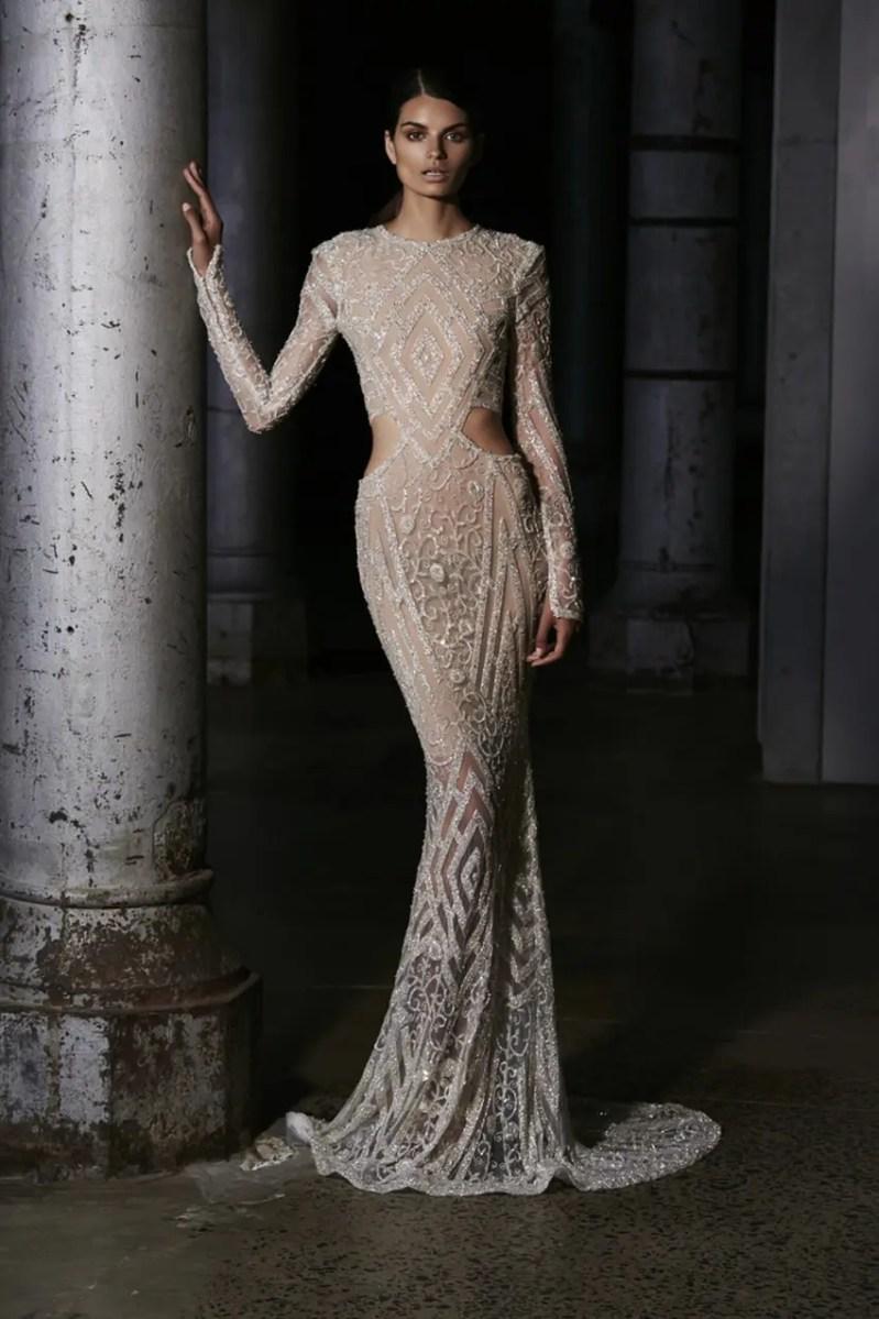Steven Khalil Couture Collection Show At Mercedes Benz