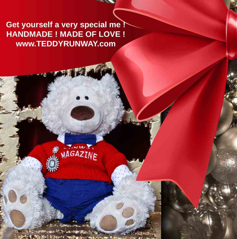Teddy Runway and Runway Fashion Personalized Books