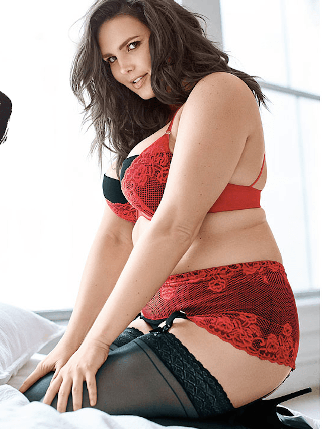 Candice Huffine Sophie Theallet Lingerie PHOTO