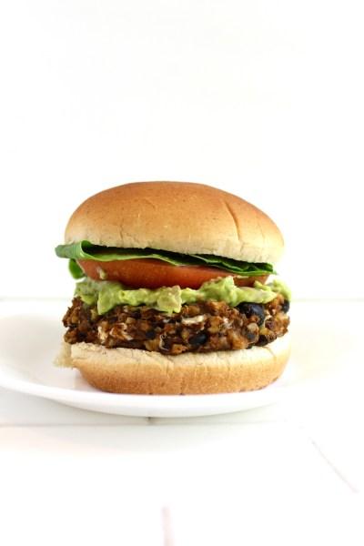 Fiesta Tempeh Burgers