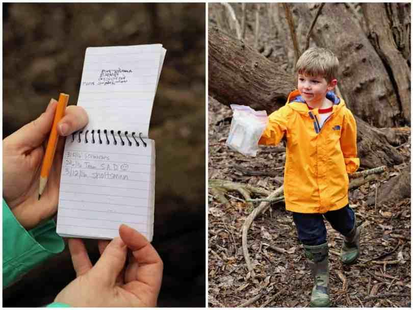 Logging your first geocache