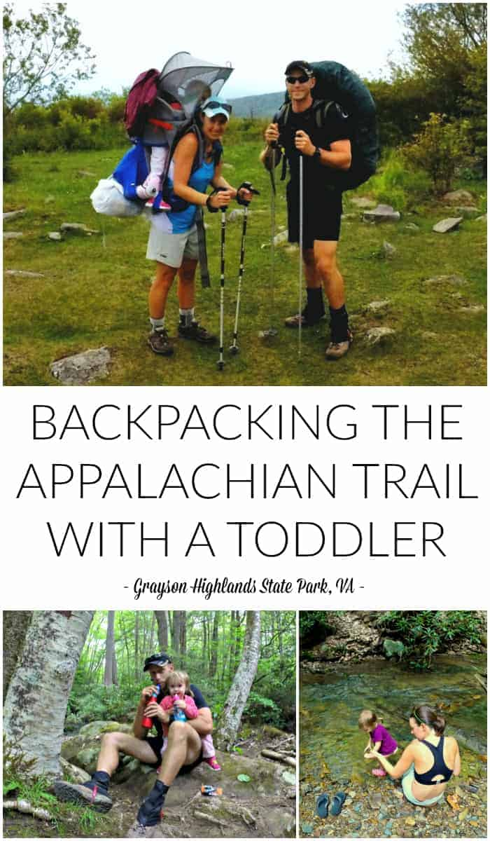 Backpacking the Appalachian Trail with a Toddler