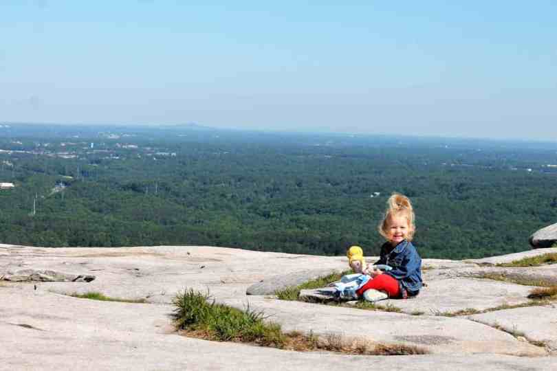 family photos of kids at stone mountain