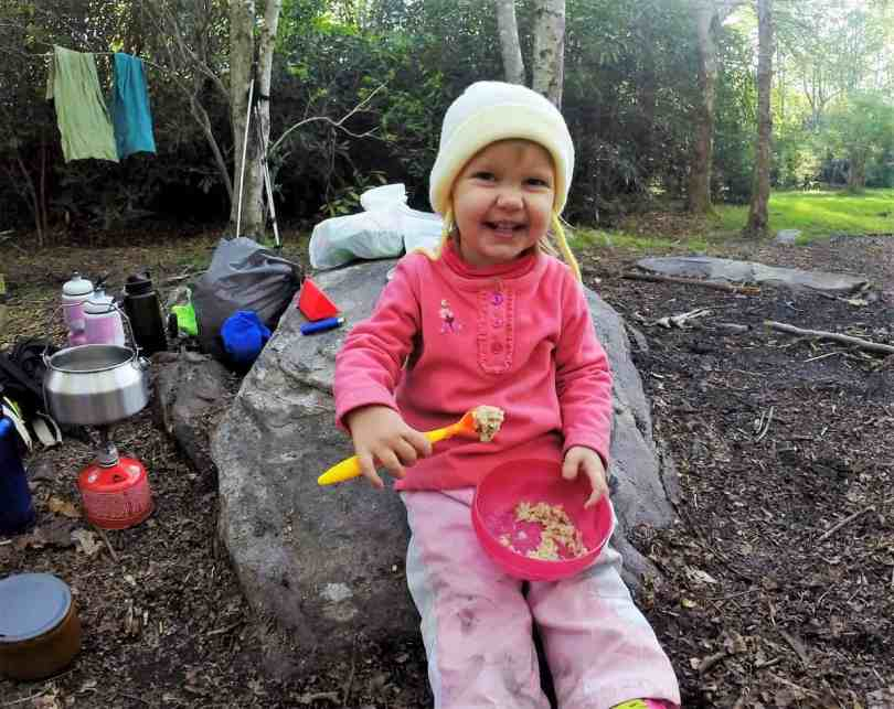 Where to go Backpacking on the Appalachian Trail with a Toddler