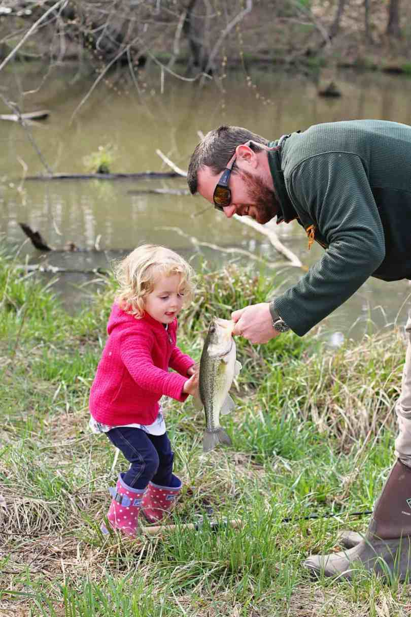 teaching kids to love fishing