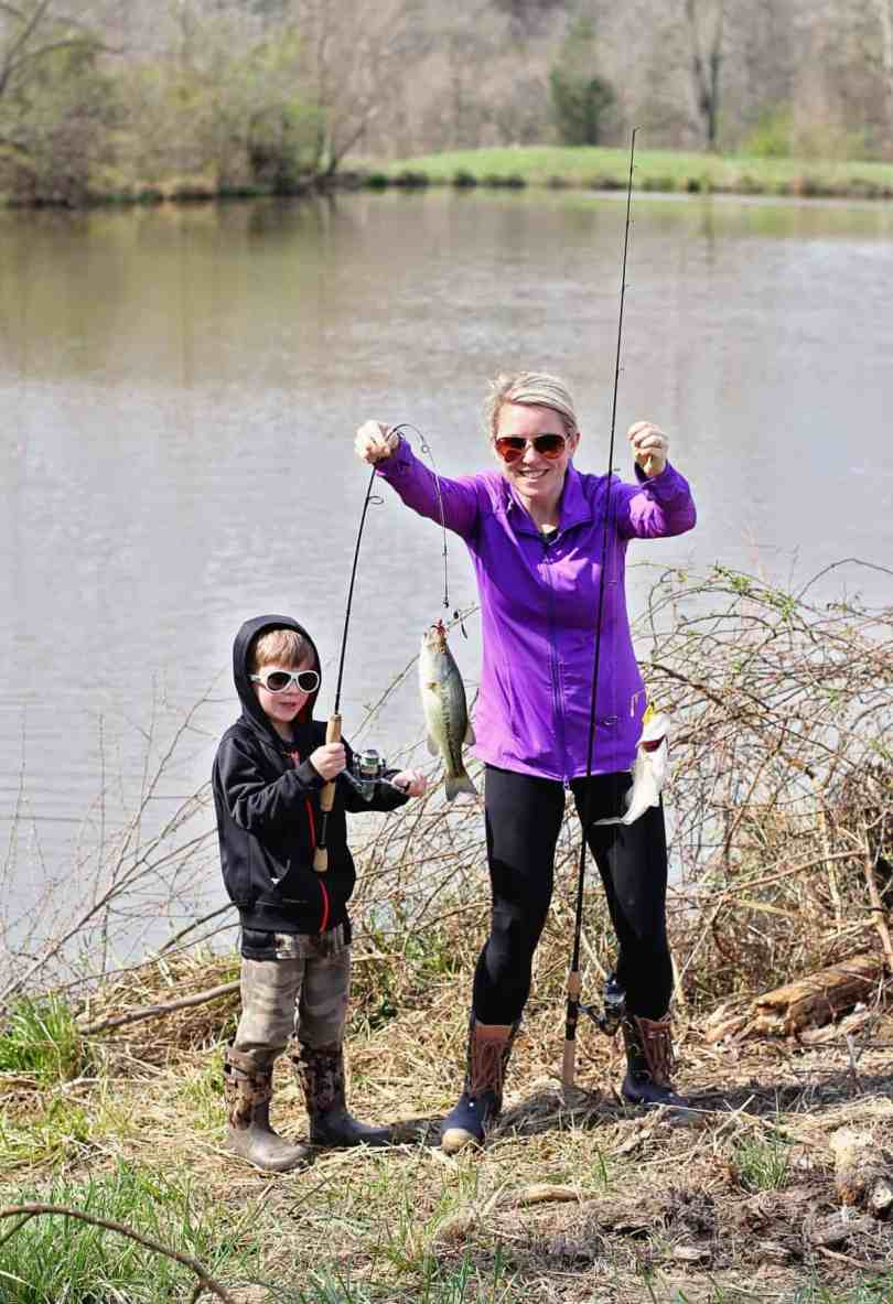 raising your kids to love fishing