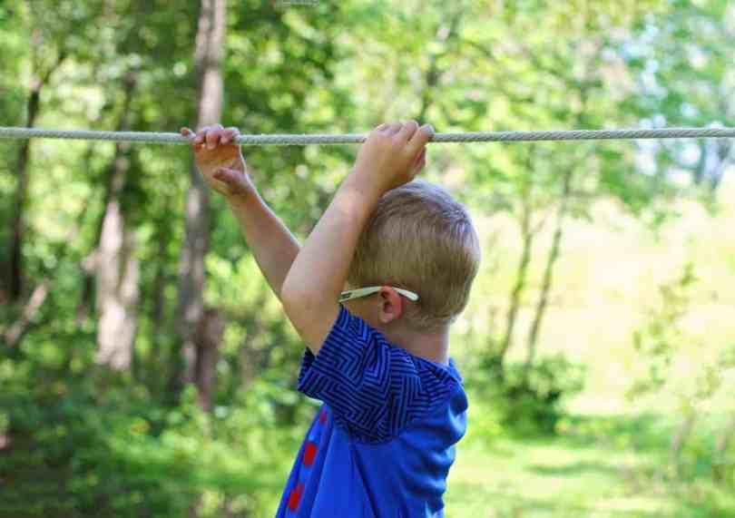 Benefits of slacklining for kids