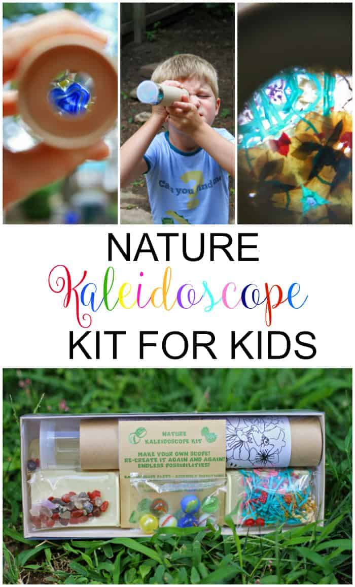How to Make a Nature Kaleidoscope with Kids