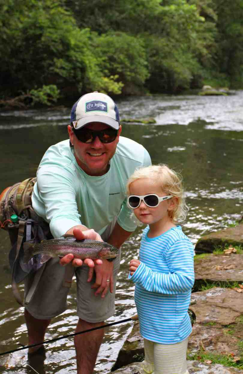 world class fly fishing for kids dry run creek
