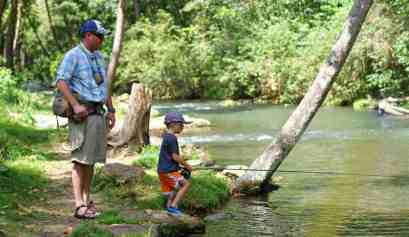 dry run creek fly fishing for kids