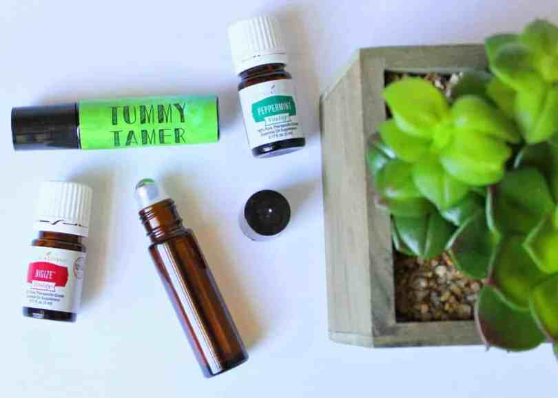 tummy tamer essential oil roller recipe