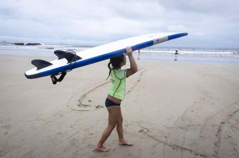 surfing costa rica with kids