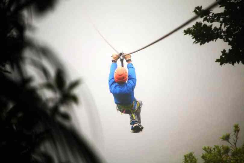 ziplining with kids costa rica