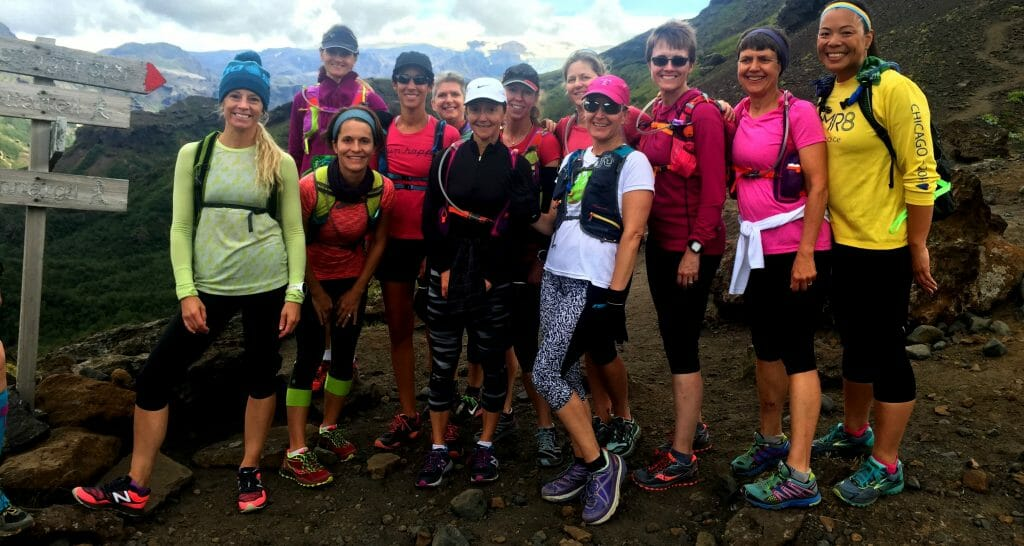 The women at the 2016 Iceland Trail Running + Wellness Retreat became fast friends during our runs in Iceland!