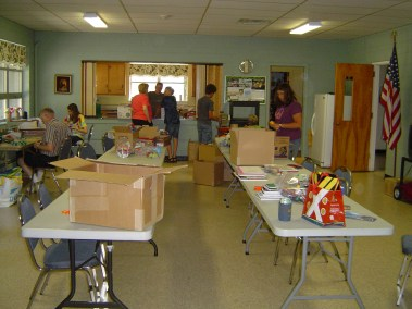 BOXES FOR AFGHANISTAN SCHOOL KIDS