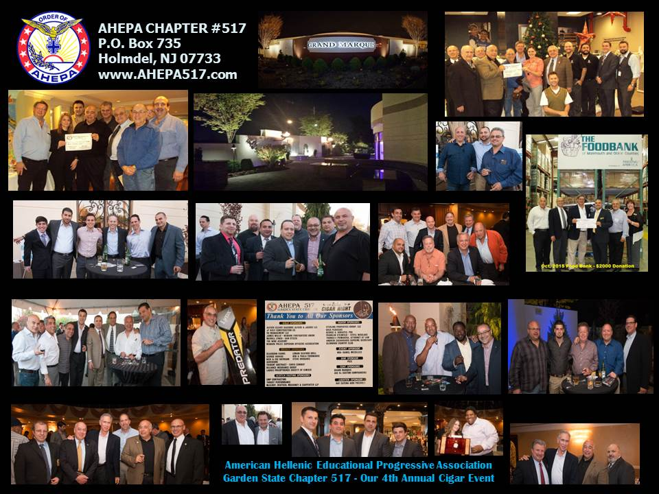 AHEPA Cigar Night