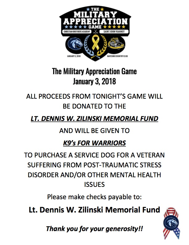 DONATION FLYER AND SIGNAGE FOR GAME