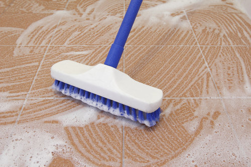 how to deep clean your tile floor