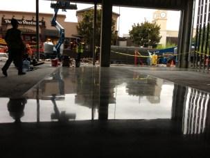 Polished Concrete Overlay