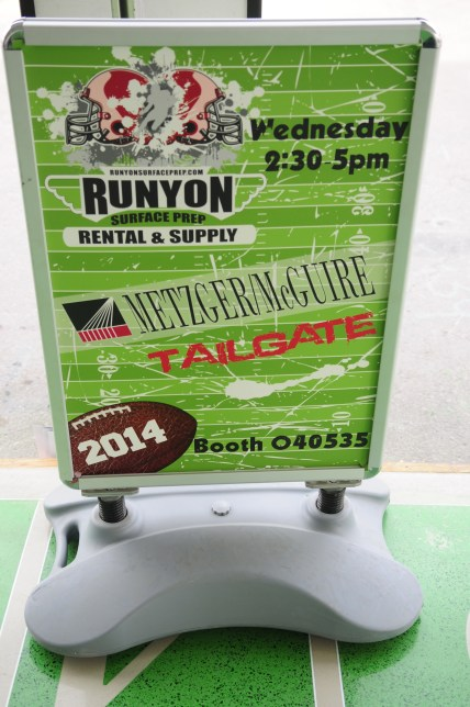WOC 2014 - tailgate sign