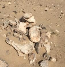 Markierungen Laufstrecke Fuerteventura