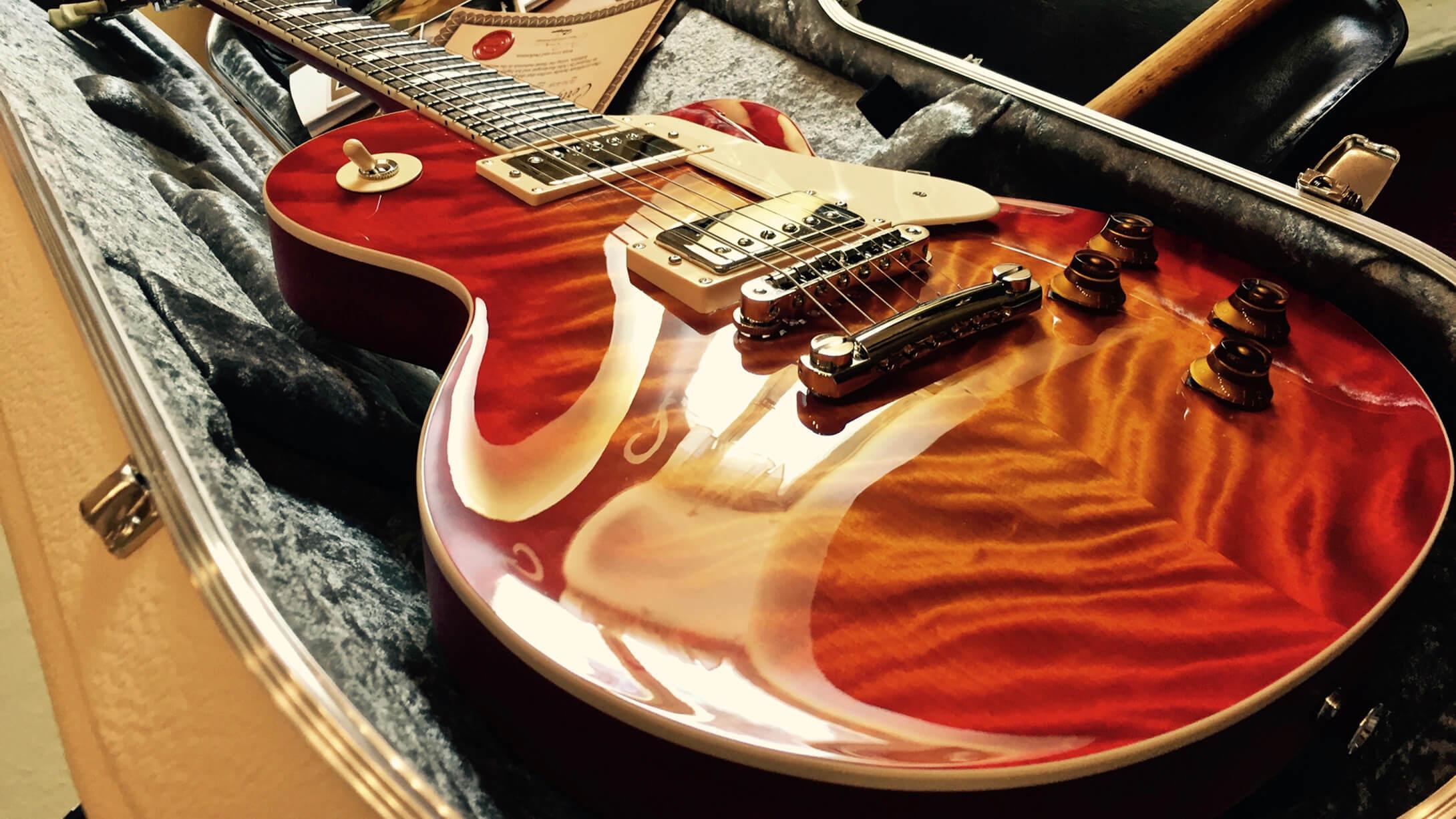 Polishing Polyurethane Guitar