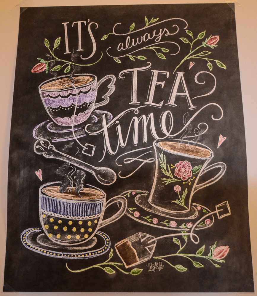 Teeleidi: It's alwaus tea time!