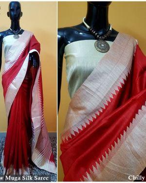 2b6630479dfba Banglori handloom raw silk saree with contrast blouse piece » Upto ...