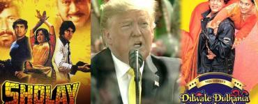 """ডোনাল্ড ট্ৰাম্পে কৰিলে """"দি দি এল জে"""" ও """"শ্বোলে"""" ৰ প্ৰশংসাঃ 3"""