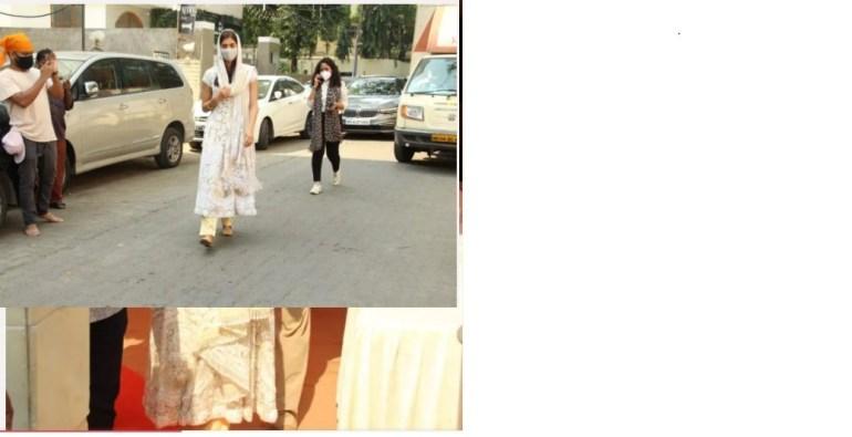 Pooja Hegde stuns in traditional as she visits a gurudwara on the occasion of Guru Nanak Jayanti; see photos 4