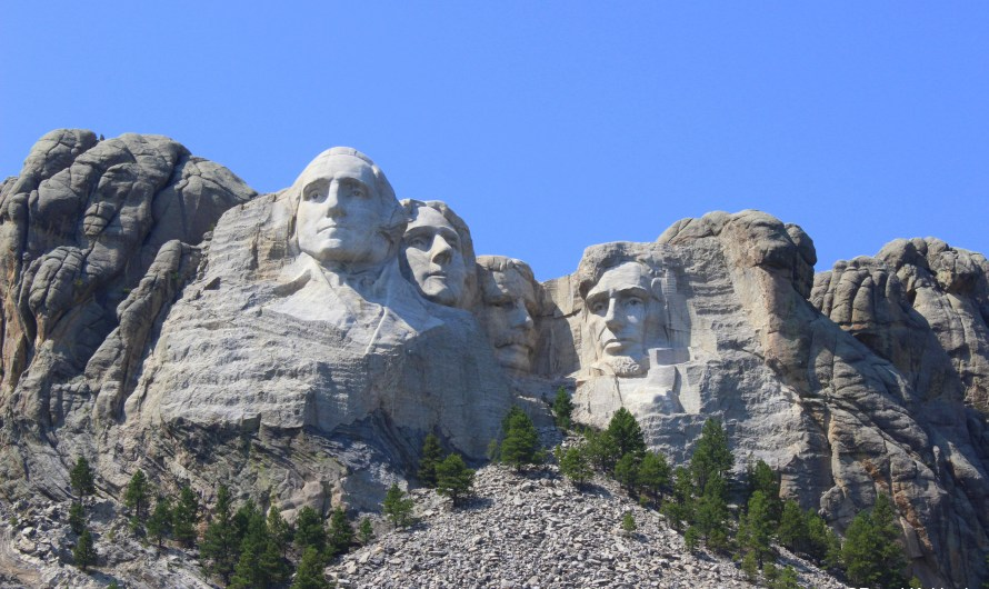 Mount Rushmore and the more interesting Custer State Park
