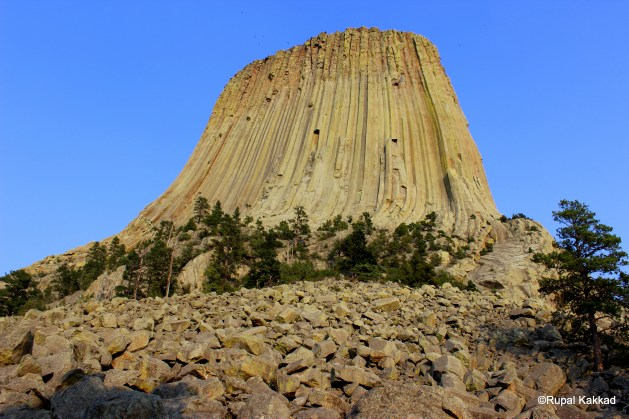 different vies of devils tower