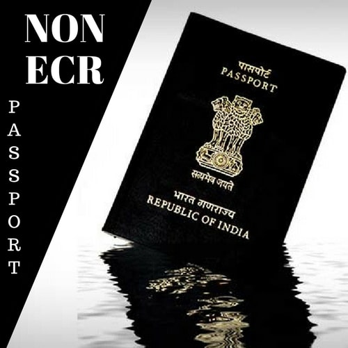 Non-ECR Passports   ECNR Passports - Eligibility & Documents Required