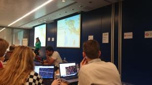 Arup, a posh Civils Company, hosting the Missing Maps Mapathon.